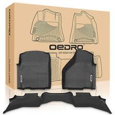 OEDRO Floor Mats Liners Fit for 2013-2018 Dodge Ram 1500 Regualr Cab Unique TPE