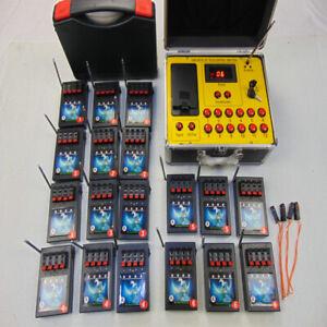 72 Cues Special Effects Fireworks Firing System Waterproof Box Salvo Fire Biluso