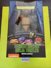 Neca 1/4 18 inch Michaelangelo Teenage Mutant Ninja Turtles Brand New in box