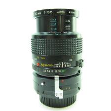 Obiettivi a focus manuale per fotografia e video Minolta F/3.5