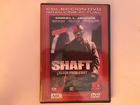 SHAFT DVD NUEVO PRECINTADO SAMUEL L. JACKSON CHRISTIAN BALE Nº EN USA