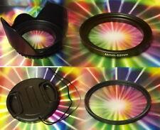 FLOWER HOOD+UV+LENS CAP+RING-ADAPTER 46-52 mm > Camera Camcorder Video S700 S800