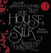 THE HOUSE OF SILK sealed 8 cd set..Anthony Horowitz SHERLOCK HOLMES STORY  CD