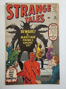 STRANGE TALES #78 (NOV 1960) ATLAS COMICS. SILVER AGE.