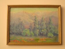 ANTIQUE EARLY CALIFORNIA LANDSCAPE PAINTING AMERICAN IMPRESSIONIST SUE KELLEY