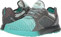 Ariat 245907 Womens Fuse Athletic Shoes Turquoise/Gray Size 6.5 B Medium