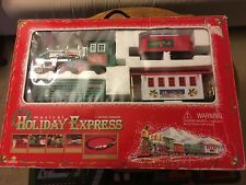 GoldLok Musical Holiday Express Battery Operated 1997 Railroad Vintage Set