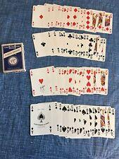 Vintage 1960s Ferd. Piatnik & Sons Vienna Austria Playing Cards Deck Horse Logo
