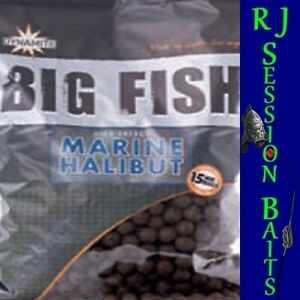 Dynamite Baits Marine Halibut 15mm Session Pack of 25 Boilies