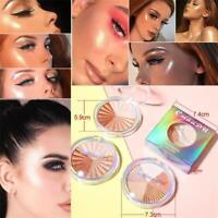 Cmaadu Glow Kit Highlighter Brighten Makeup Shimmer Powder Palette Cosmetic A+