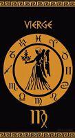Serviette de plage Drap de bain Signe du Zodiaque astrologique Vierge Jacquard