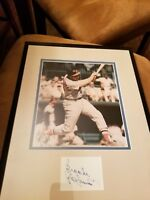 Baltimore Orioles Brooks Robinson Autograph Framed Picture