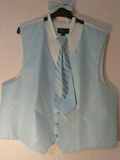 """New Men's Warehouse Outlet Vest/Tie Set """"PRONTO UOMO"""" Size XXL FREE SHIPPING"""