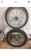 honda crf 250 450 Oem Front And Rear Wheels Rims Hubs