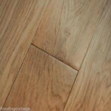 Solid Oak Lacquered Finish 18mm x 125mm Hardwood Flooring Rustic Wood