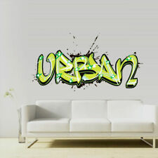 Full Color Wall Decal Sticker Kids Graffiti Words Quote Sign Urban (Col704)