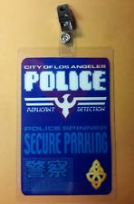 Blade Runner Parking Permit- Police Spinner Secure Parking