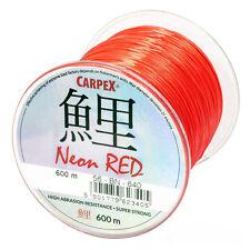 Carpex Neon Red 300m / 600m Karpfenschnur Feederschnur Angelschnur Schnur Feeder