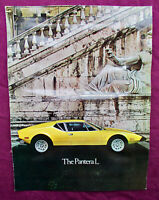 "De Tomaso Pantera L Lincoln Mercury Ford "" Italian GT 40 ""hochglanz Original RAR"