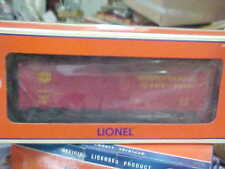 LIONEL,,,,# 17259----KATY BOXCAR WITH DIE CAST FRAME