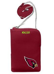 NFL Arizona Cardinals Pebble Smart Crossbody Purse