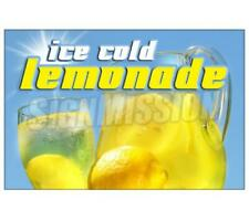 Lemonade I Concession Decal Drink Sign Signs Cart Trailer Stand Sticker