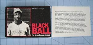 Black Ball 1 Book of 30 Postcards Negro League Baseball African American MLB