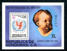 Honduras C687, Mnh, Int. year of the child s/s 1980 Albert Durer x17208