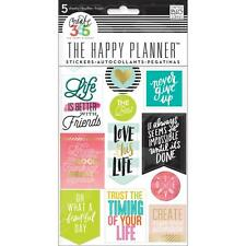 MAMBI The CLASSIC Happy Planner Stickers - Life Quotes