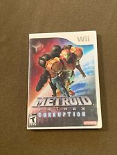Nintendo Wii Video Game Metroid Prime 3 Corruption Rated T