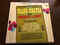 FRANK SINATRA SINGS RODGERS AND HART VINYL LP CAPITOL DUOPHONIC