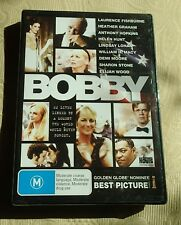 Bobby R4 RARE DVD SEALED Anthony Hopkins Demi Moore Bobby Kennedy