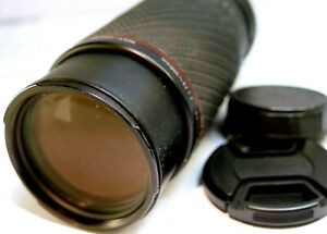 SIGMA 75-300mm f4.5-5.6 APO for Minolta MD manual focus AS IS parts w/ issues