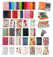 Stylish Wallet Case Cover Folio Fits Sunstech Tab88QCBT 8 Inch Tablet