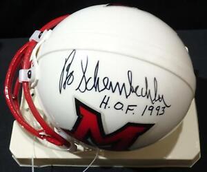 Bo Schembechler Miami-Ohio Auto Football Mini Helmet JSA KK52114
