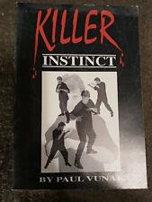 paul vunak killer instinct jeet kune do mma self defense martial arts book rare