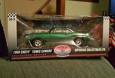 1969 YENKO Camaro Rally GREEN Supercar collectibles  1:18 Highway 61 50699