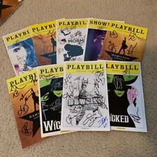 "Randomly Selected (""Blind"") AUTOGRAPHED/Signed Broadway Playbill NEW DESCRIPTION"