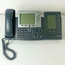 Cisco CP-7962G IP Office Phone with CP-7915 Expansion  Module