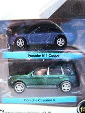 Porsche 911 & Porsche Cayenne Twin Pack Cararama 1-72