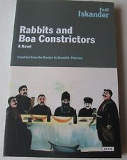 Rabbits and Boa Constrictors Paperback Novel by Fazil Iskander Remaindered