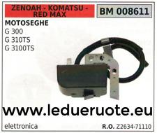 Z263471110 BOBINA ELETTRONICA MOTOSEGA ZENOAH KOMATSU RED MAX G 300 310TS 3100TS