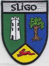 Sligo County Ireland Irish Flag Embroidered Badge Patch