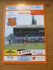 17/10/1993 Volendam v Go Ahead Eagles  . No obvious faults, unless description p