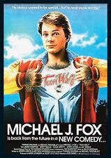 Teen Wolf Michael J. Fox Repro Film POSTER