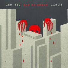 Med , bleu, Madlib - bad neighbor (2LP Vinyle) 2015 BANG YA HEAD / byh005lp