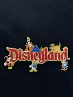 Disney Pin AUCTIONS Disneyland Pin Trading 2002 Mickey Minnie Donald Pluto Goofy