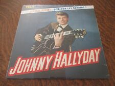 RARE 33 tours JOHNNY HALLYDAY special radio! bonjour les copains! volume 4 2013