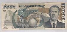 Bank Of Mexico 10000 Pesos Feb 24 1987