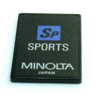 MINOLTA Creative Expansion Card for SPORTS. Compatible with Dynax 9xi